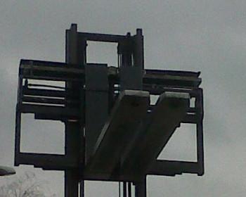 POSIZIONATORE FORCHE CON FORCHE ALLUNGABILI 2350 mm Bolzoni / Auramo