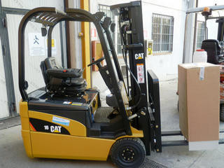 Cat Lift Truck  Muletto Elettrico Usato CAT EP 16 NT Matr.ETB1123851  Cat Lift Truck
