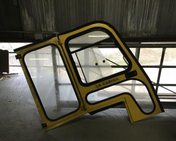 Porte laterale ,vetrato frontale e vetro posteriore OM / Pimespo