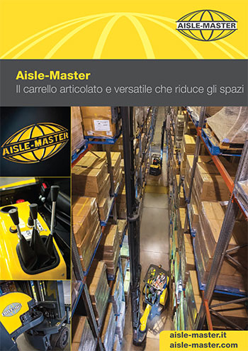 Catalogo Aisle-Master carrelli articolati