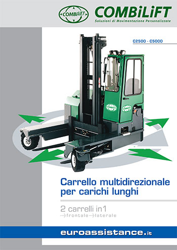 Catalogo EA Combilift - Carrelli multidirezionali C2500