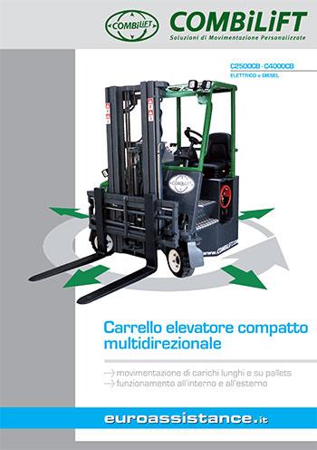 Catalogo EA Combilift - Carrelli compatti elettrici e diesel