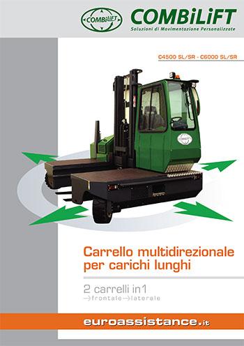 Catalogo EA Combilift - Carrelli multidirezionali C4500SL