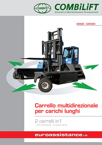 Catalogo EA Combilift - Carrelli multidirezionali C6000