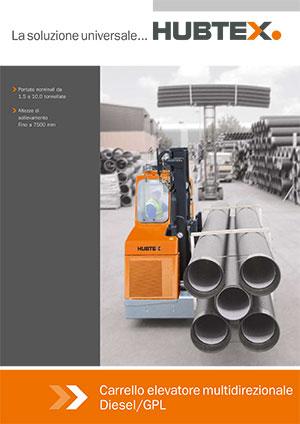 Catalogo Hubtex Carrelli Multidirezionali Diesel